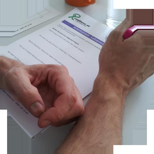 Resilienz Test und Fragebogen